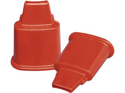Stükerjürgen Standfüße Kunststoff rot, für Geflügeltränken 6 und 12 l