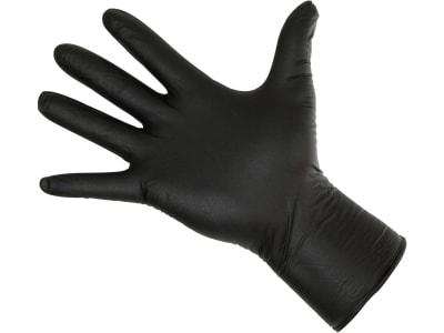 "Einmalhandschuh ""Nitrile Long Black"" 50 St."