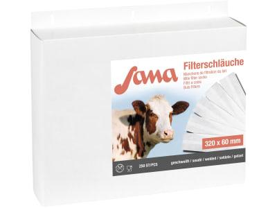 """Sana Milchfilterschlauch """"Sana"""" 320 x 57 mm; 60 mm, geschweißt, 46671"""