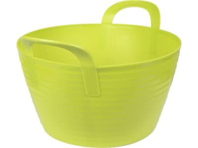"""Kerbl Aufbewahrungs- und Transportbehälter """"Flex Bag"""" 12 l, grün, Kunststoff, mit zwei Griffen, 323530"""