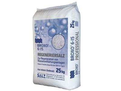 BROXO® 6 -15 Regeneriersalz für Ionenaustauschersysteme 25 kg Sack
