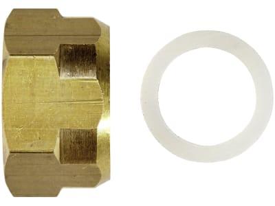 Suevia Überwurfmutter für Tränkebecken Mod. 15, mit Dichtung, 102.0156