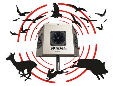 ultraSon® ultraschallsender Wild- und Vogelabwehrgerät Typ Typ 650