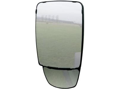 """Mekra Außenspiegel """"1009"""" links/rechts, 232 x 381,4 x 122 mm, mit Weitwinkelspiegel für Nahbereich"""