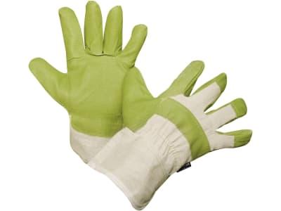 """Keron Handschuh """"Artos"""" Gr. 10,5, Kunstleder; Fütterung Handfläche Baumwolle; Handrücken Baumwolle; Stulpe Baumwolle, 29720"""