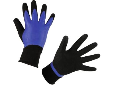 """Keron Handschuh """"Agua"""" Nylon-Feinstrick (15 Gauge) Latexbeschichtung 2-fach wasserdicht"""