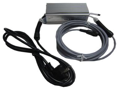 Netzgerät 220V/12V für ultraSon® Wild- und Vogelabwehrgerät stabilisiert mit Schuko-Stecker Passend für Typ 610