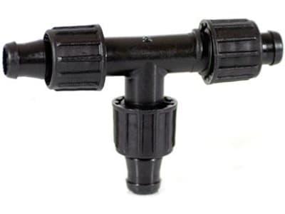 TEE X TAPE T-Verbinder für dünnwandige Tropfschläuche 16 mm; 16 mm; 16 mm (Beutel á 1 Stück)
