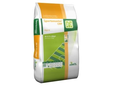 Sportsmaster® CRF High N grob granulierter, umhüllter NPK 26+5+11 Langzeitdünger mit einer Wirkungsdauer von 2–3 Monaten, für von Sportplätzen und Fairways Rasen 25 kg Sack