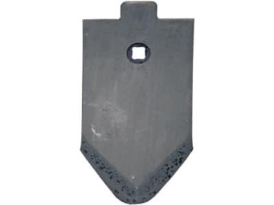 Industriehof® Scharspitze 230 x 120 x 10 mm, für Amazone/BBG, Lemken, 101.86010