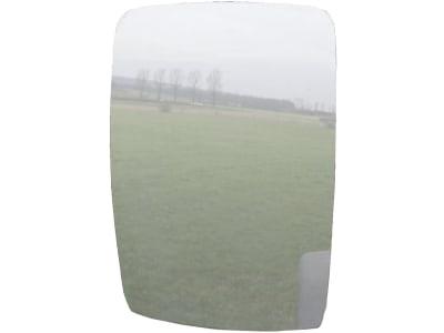 "Mekra Spiegelglas ""1009"", 225 x 285 x 3 mm, Wölbungsradius 1.200 mm"
