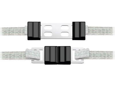 """Ako Breitbandverbinder """"Litzclip®"""" verzinkt für 12,5-mm-Bänder, 442010/056"""
