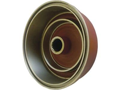 Bremstrommel Ø innen 250 mm, Zähne 23, für Fuß- und Handbremse Deutz-Fahr D 6006 – 7206, D 6807 – 7807, DX 3.70 – DX 3.90