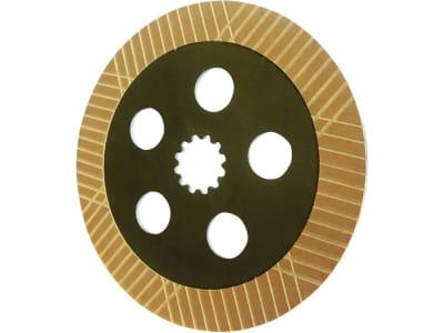 Bremsscheibe, Ø außen 306 mm, Stärke 10,2 mm, Zähne 12, Fußbremse Traktor 900, 20er-, 30er- und 40er-Serie für John Deere