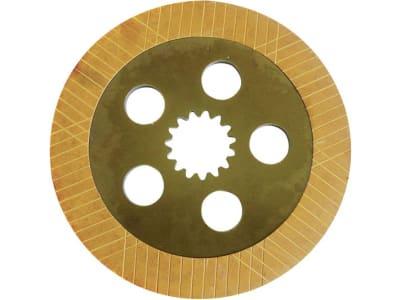 Bremsscheibe, Ø außen 306 mm, Stärke 10,2 mm, Zähne 15, Fußbremse Traktor 20er-, 30er-, 40er- und 50er-Serie für John Deere