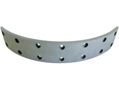 Bremsbelag, 335 x 60 x 7 mm, Ø 350 mm, Bohrungen 14, für