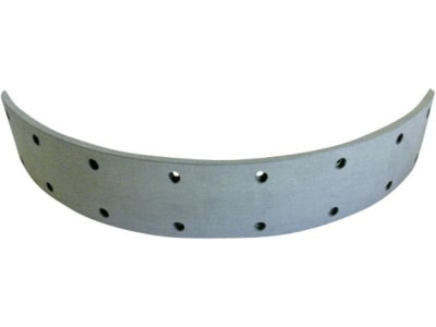 Bremsbelag 382 x 60 x 6 mm, Ø 350 mm, Bohrungen 16, lang
