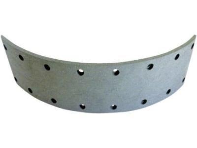 Bremsbelag, 272 x 70 x 5 mm, Ø 250 mm, Bohrungen 16, für Deutz-Fahr Knott Fußbremse D 6006 – D 7206, mechanische Bremse D 6807 – D 7807