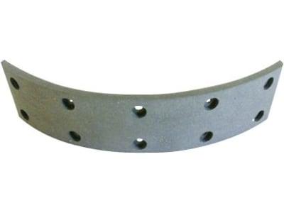 Bremsbelag, 188 x 40 x 5 mm, Ø 180 mm, Bohrungen 10, Fußbremse Deutz-Fahr Agroprima 4.31, 4.51, Agrotron 4.80 – 4,.95, D-Serie, DX-Serie, für Deutz-Fahr