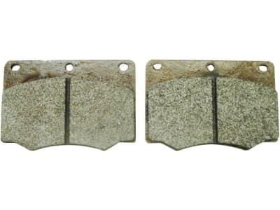 Bremsklotzsatz (2 St.) 98 x 68 x 15 mm, ohne Warnkontakt für Case IH, Fendt