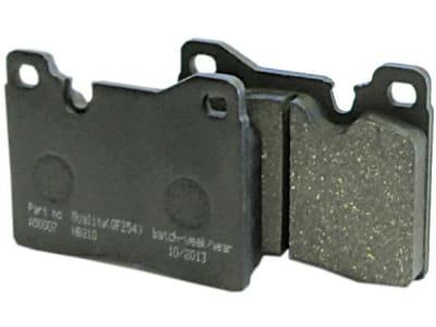 Bremsklotzsatz (2 St.) 90 x 70 x 15 mm, Fußbremse und Kardanwelle, Agrostar-, Agroxtra-, Agroprima- und DX-Serie, für Deutz-Fahr