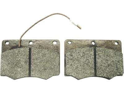 Bremsklotzsatz (2 St.) 98 x 68 x 15 mm, Fußbremse und Kardanwelle für Deutz-Fahr, Fendt, John Deere, Renault