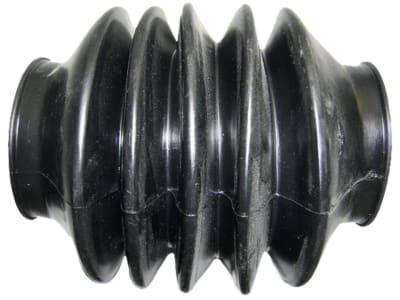 Faltenbalg PKW Anhänger, Durchmesser 55 mm; 55 mm, Falten 5, für Grümer, Grau