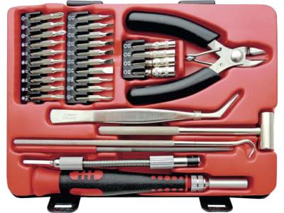 Mini-Werkzeugsatz 31-teilig, in Kunststoffbox