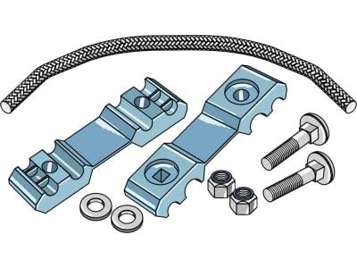 Industriehof® Zinkenverlustsicherung für Federzinken von 8 – 10,5 mm, 15-1000