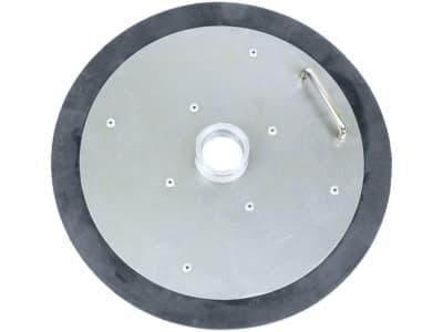 """Samoa-Hallbauer Fettfolgedeckel """"FD 15/18"""" für Fettpressenfüllgeräte für 15/18 kg-Eimer, Durchmesser 240 – 288 mm"""