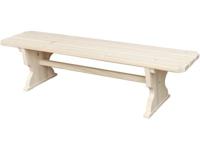 Braun Sitzbank ohne Rückenlehne, Fichte; Tanne