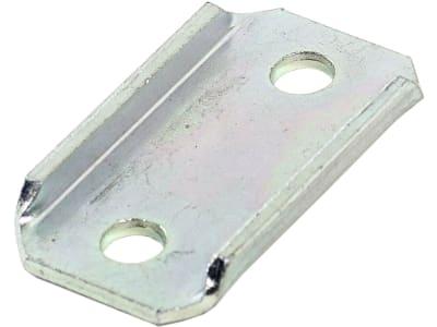 Gaspardo Zinkenhalteplatte, Bohrung M 8 für Sämaschine Striegelzinken<br>Vierkantrohr 35x35, G07000026R