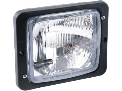 Hella® Hauptscheinwerfer links/rechts, 12 V; 24 V H4; T4W, Abblendlicht; Fernlicht; Positionslicht, 1AA 004 109-041