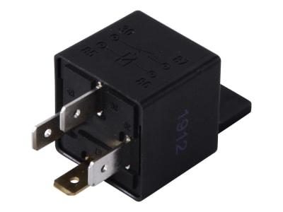 Hella® Relais 12 V, Schließer, mit Halter, 4-polig, Flachsteckanschluss, 4RA 965 400-071