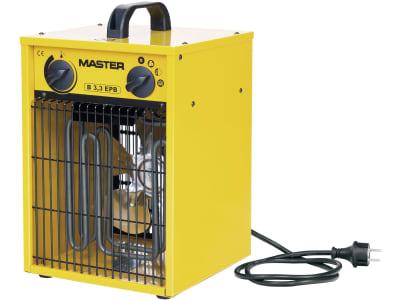 """Master® Elektroheizer """"B 3.3 EPB"""" 1,65 kW; 3,30 kW, 4510.074"""