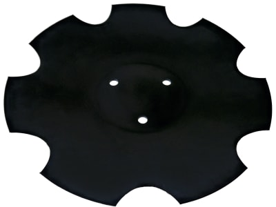 Horsch Sechscheibe 380 x 4 mm, 3-Loch, gezackt, 34521701