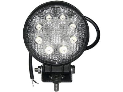 LED-Arbeitsscheinwerfer rund 1.600 lm, 10 – 30 V, 8 LEDs, Funkentstörung Klasse 3