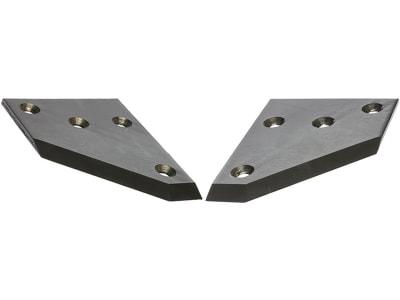 Industriehof® Siloschneidmesser links/rechts, 220 x 160 x 8 mm, für Red Rock