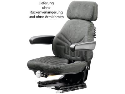 """Grammer Traktorsitz """"Universo® Basic Plus"""", mechanisch gefedert, High-Performance-Stoff, anthrazit/grün/silber"""