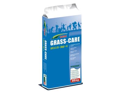 CUXIN DCM GRASS-CARE organisch-mineralischer NPK 6+3+20 für Rasenflächen 25 kg Sack