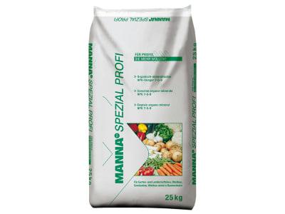 MANNA SPEZIAL PROFI organisch-mineralischer NPK 7+5+9 mit Formaldehydharnstoff 25 kg Sack