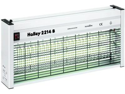 "Halley Fliegenvernichter ""2214/B"" 2 x 20 W, grün, max. 300 m², Aluminiumgehäuse, IP 44, 299806"