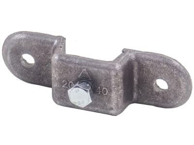 Rungenhalter, L x B 40 x 20 mm, für Vierkantrohr