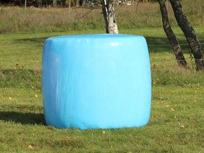 Triowrap® Trioplus® 1900 RS Stretchfolie Premium Plus Stretchfolie, für Rund- und Quaderballen in allen Größen, PE PreTech® Folie blau 21 µm 0,75 x 1.900 m