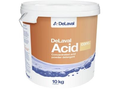 """DeLaval Melkanlagenreiniger """"Acid Conc"""", 10 kg, sauer, konzentriertes Pulver, 741001615"""