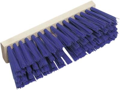DeLaval Ersatzbesen 30 cm, Borstenbesatz PVC, blau, für Holzstiele mit 28 – 34 mm Durchmesser