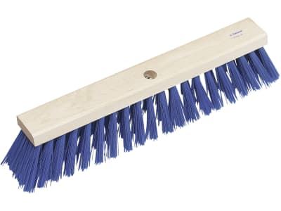 DeLaval Ersatzbesen 48 cm, Borstenbesatz PVC, blau, für Holzstiele mit 28 – 34 mm Durchmesser
