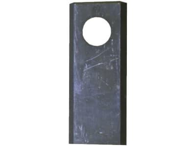 """Industriehof® Kreiselmäherklinge """"A"""", links/rechts, 97 x 50 x 4 mm, gerade, für JF-Stoll, Kongskilde, Pöttinger, 80-117"""