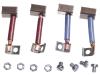 Bosch Kohlebürstensatz 12 V, 17 x 16 x 9 mm für Anlasser, 2 007 014 065