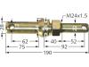 Unterlenkerbolzen Kat. 2/1 Länge 190 mm, Ø 28 mm; 22 mm, M 24 x 1,5